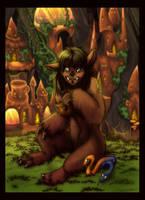 Troll Girl by Rait-StormDragoness