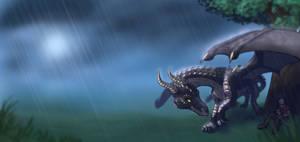 My Dragon by Rait-StormDragoness
