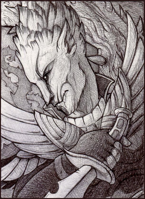Gualach by Rait-StormDragoness