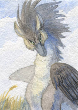 ACEO for Chickenzaur