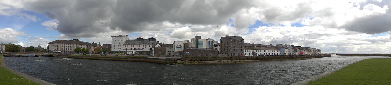 Galway Spanisch Arch Panorama by abirato