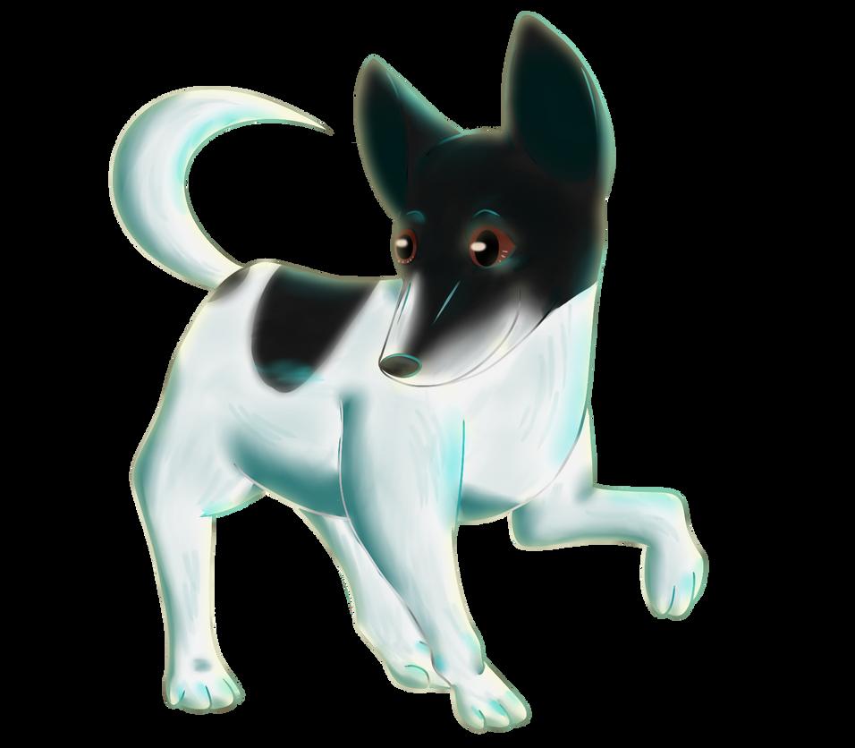 AT: Lickried's dog Sam by Birdon14
