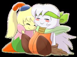 Sirica and Fumu~ by Birdon14
