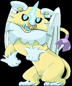 Demon Beast Pixel - Lion by Birdon14