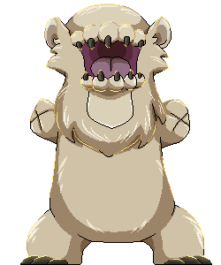 Demon Beast Pixel - Bear by Birdon14