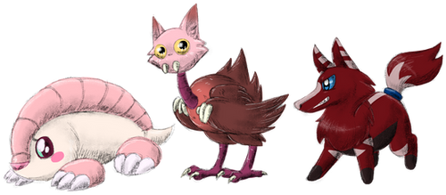 Three Little Monsters