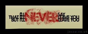 Never by xoja