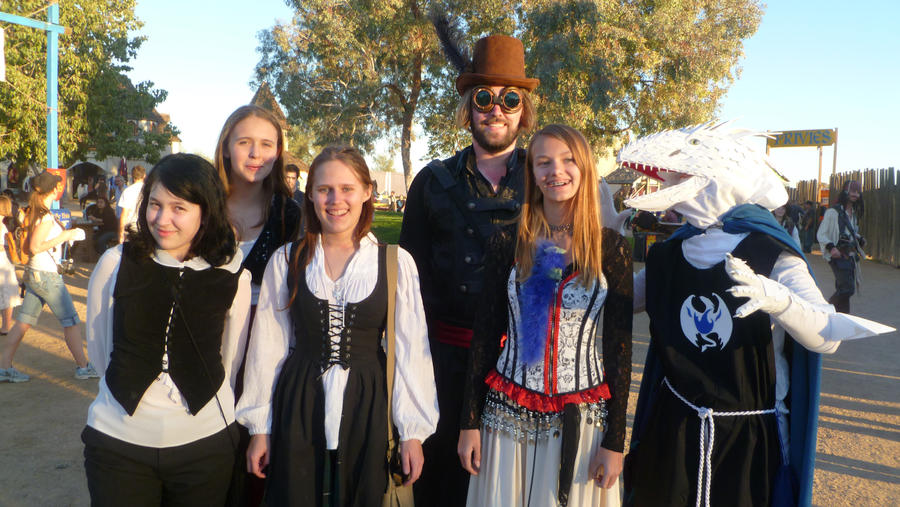 Cosplay at Renaissance Faire by TimelordWitch10 on DeviantArt