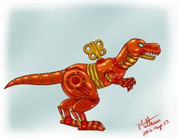 Robo Dino by MrBIGAL