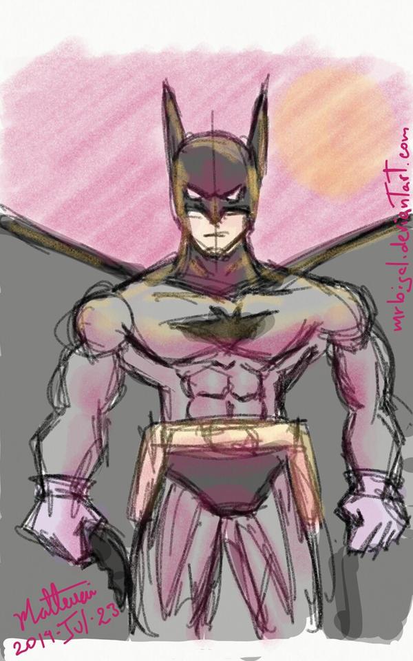 Batman 75th by MrBIGAL