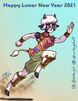 Holstein Minotaur Girl
