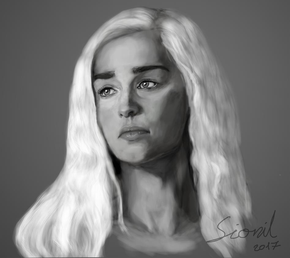 Daenerys Targaryen by Sionil