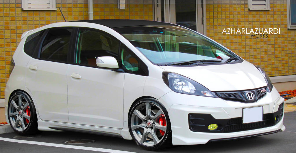 Honda Mobile Al >> Honda Fit mugen type r by ALWorks on DeviantArt