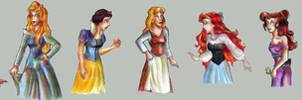 Disney Princesses by bachel60