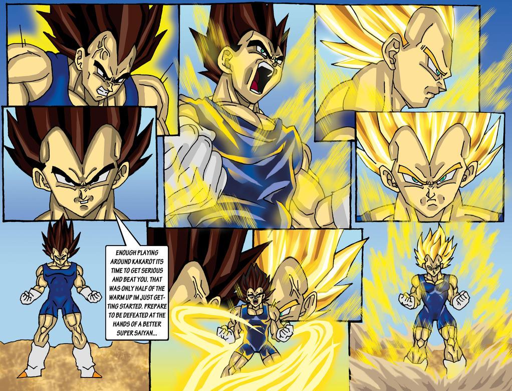Vegeta super saiyan transform page by jonathanhendricks on - Super saiyan 6 goku pictures ...