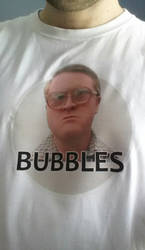 Bubbles T Shirt by Art-By-Anders