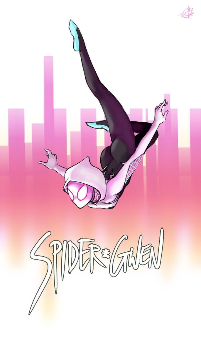 Spider Gwen by gintrax13