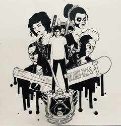 Deadly Class by gintrax13