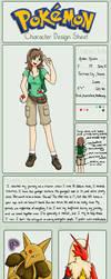 Pokemon OC: Amber by SweetLogic