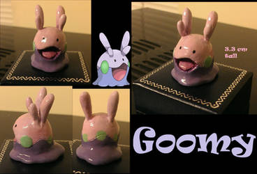 Goomy Sculpture by SweetLogic