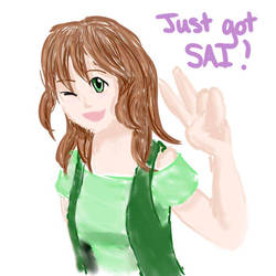 First Pic in SAI! by SweetLogic
