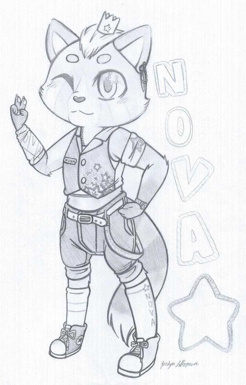 Nova Pop Star by maxgabbymeow