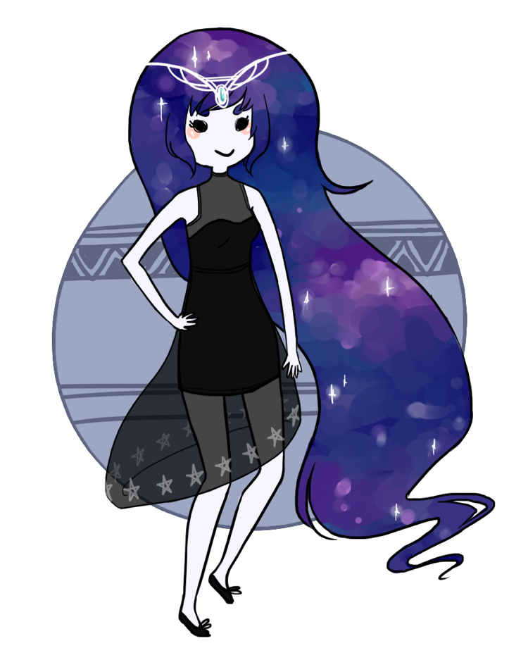 Galaxy Princess by kjsbear