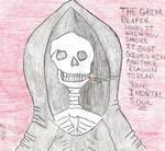 The Grim reaper saids smoke