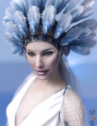 Sylph Portrait by Greta-Heron