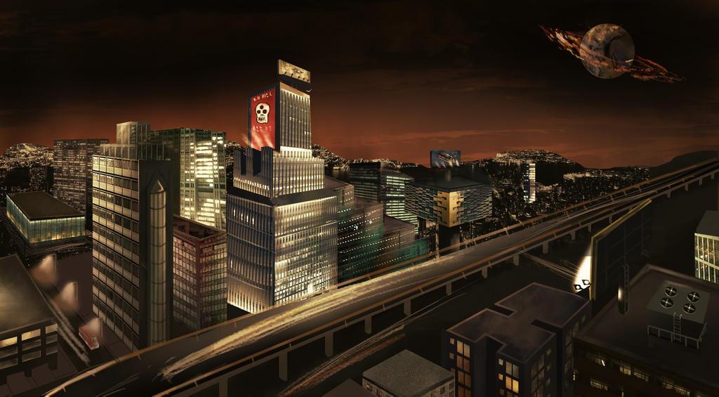 Future city Concept by edespitia