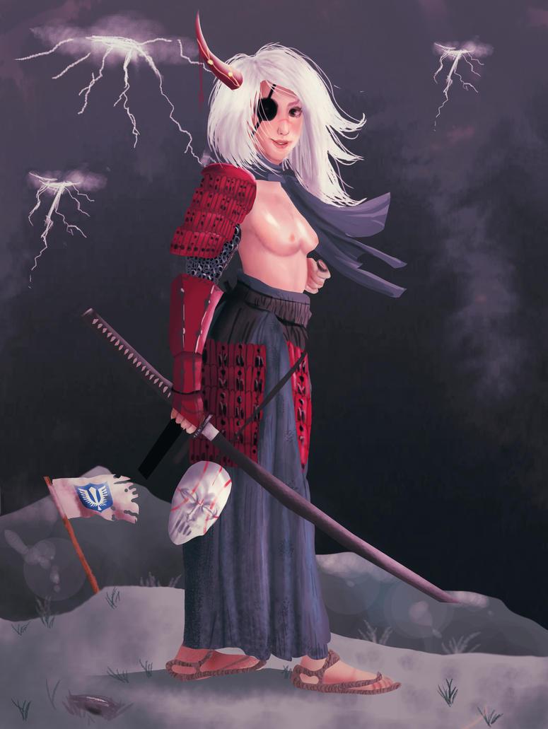Demon Samurai by edespitia