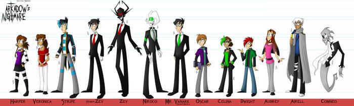 AN- Character Lineup