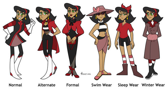 Ruby Outfits
