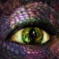 Alien Eye. by Alisha-Mordicae