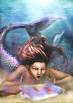 Mermaids First Painting