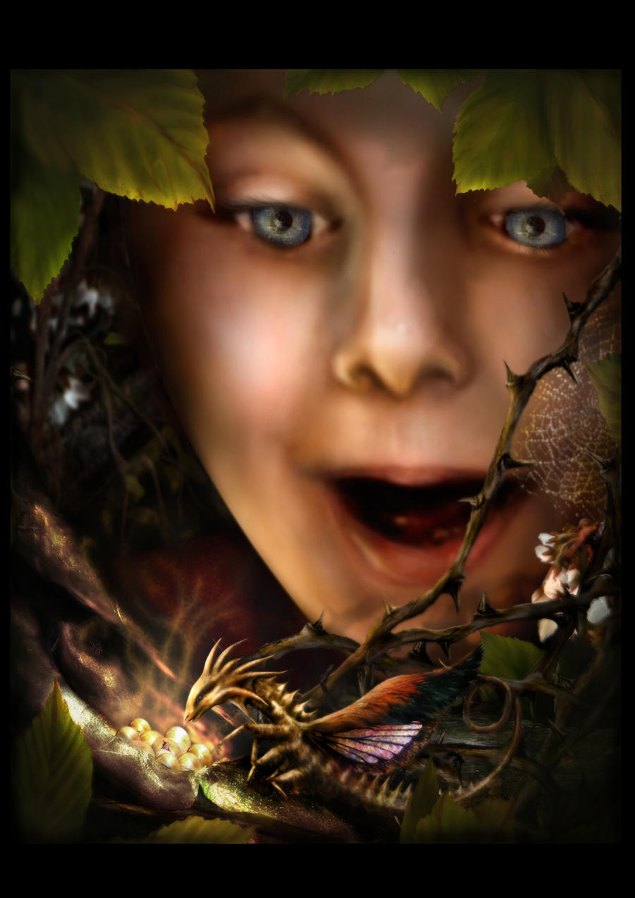 Discovery of the Akiki Dragon. by Alisha-Mordicae