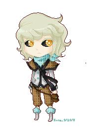 TS: Daneron Pixel Chibi by Koru-ru