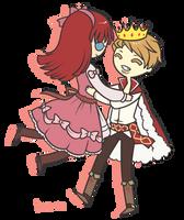 PC: Gunther and Aleria by Koru-ru