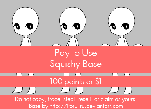 Pay to Use Base {Squishy} 100pts or $1.00 by Koru-ru