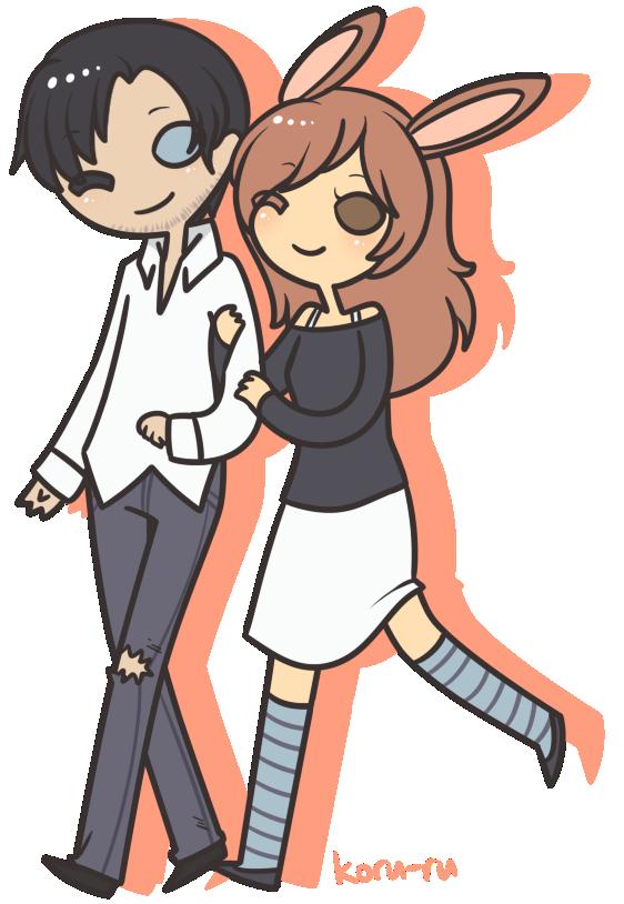 Neil + Rachel by Koru-ru