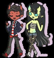 C: Vaughn and Moe by Koru-ru