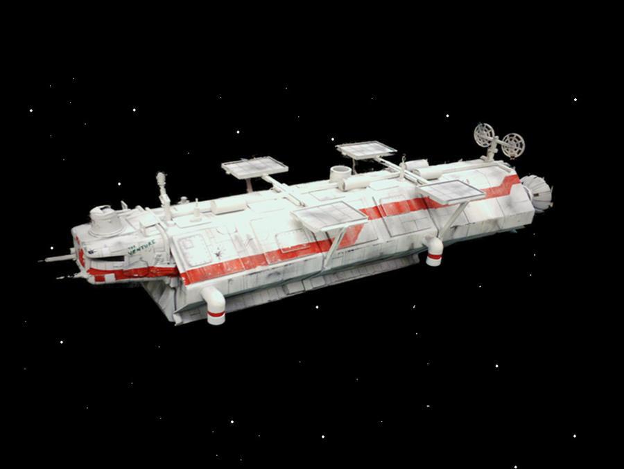 32 inch scratchbuilt freighter by qzbk