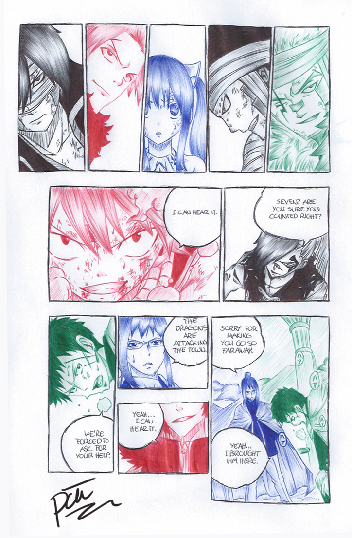 Ch. 329 - Seven Dragons (BallPointPen) by passion00