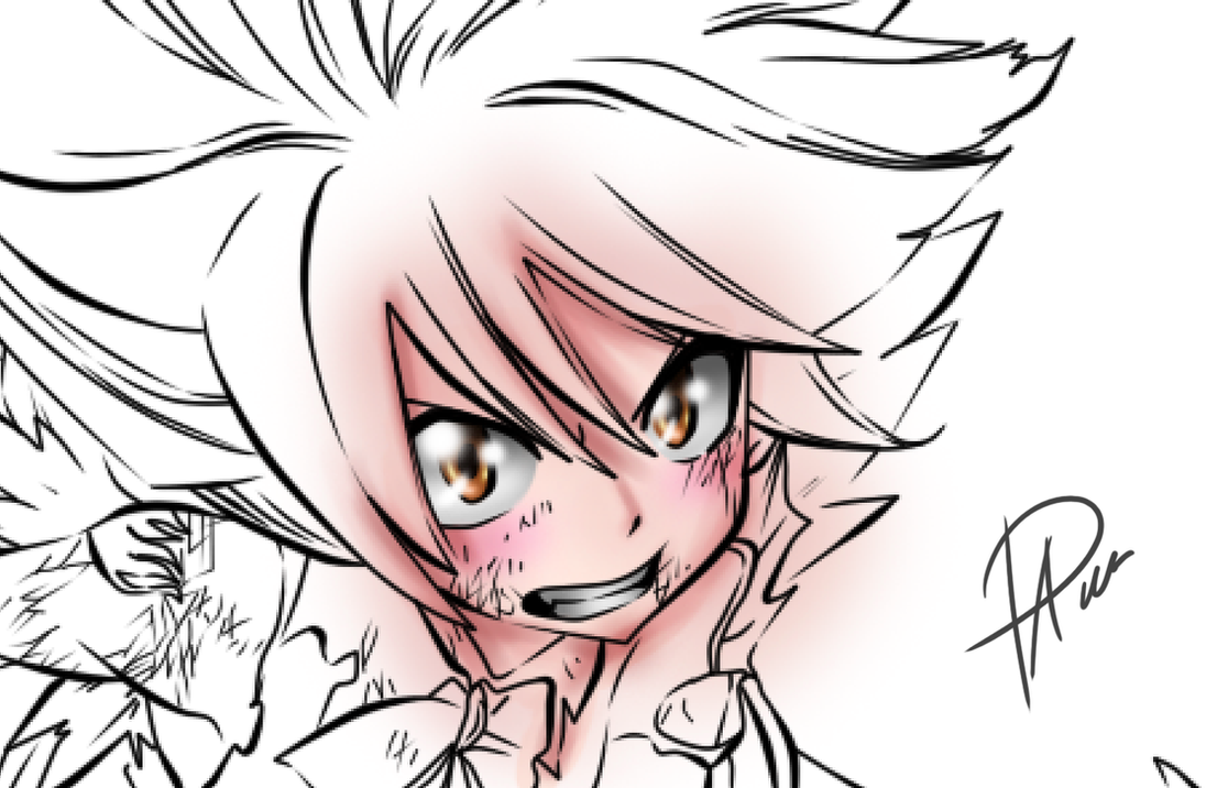 Coloring Test - Skin and Eyes by passion00