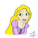 Rapunzel first attempt