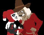 Scarecrow x Harley: Tug