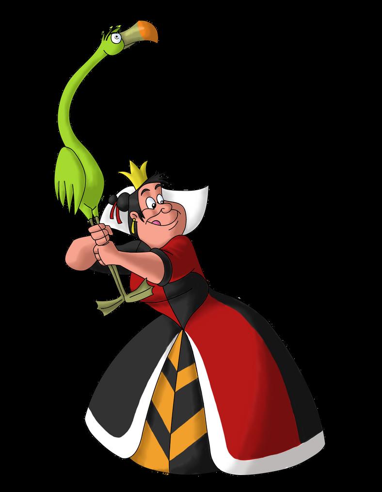 Disney Villain October 15: The Queen of Hearts