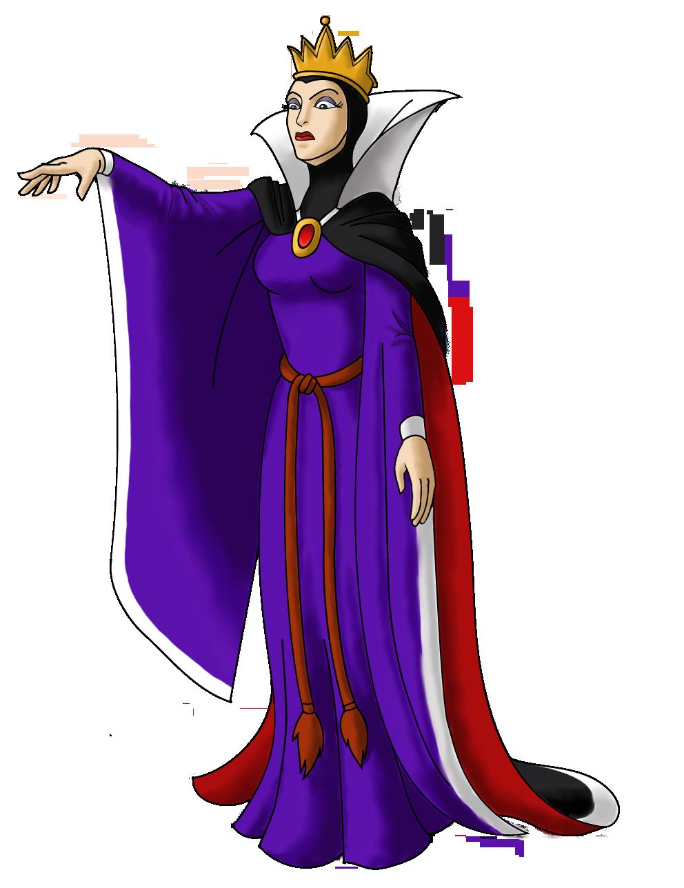 Disney Villain October 20: Queen Grimhilde by PowerOptix ...Disney Evil Queen Art