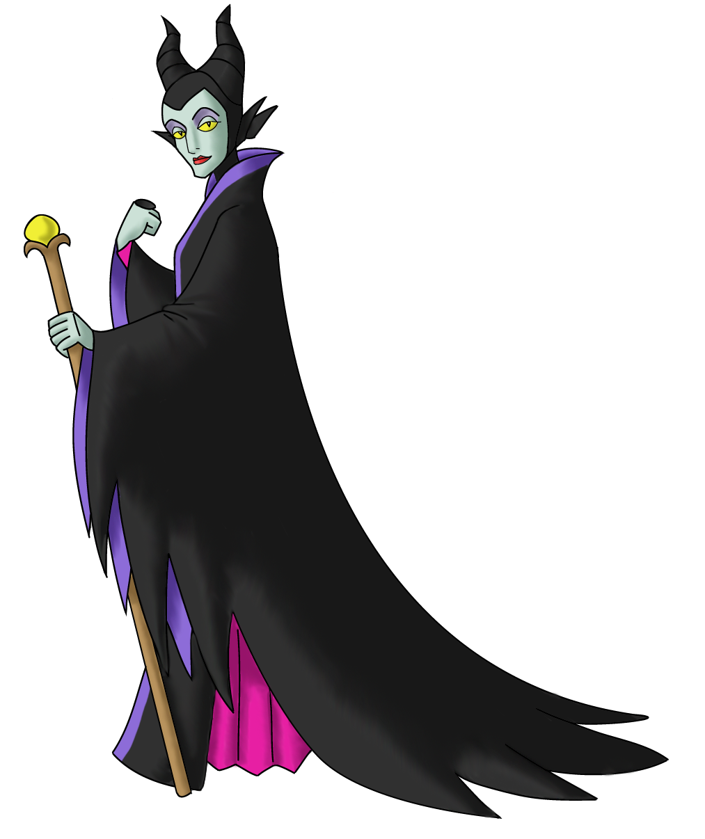 Disney Villain October 25: Maleficent by PowerOptix on ...