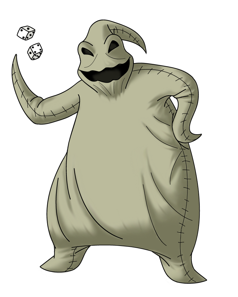 Oogie Boogie Wallpaper Oogie Boogie by Poweroptix